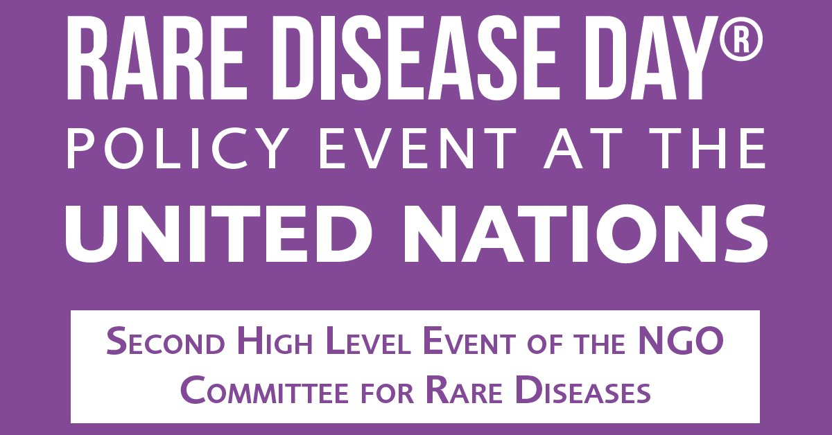 Rare disease day policy event at the united nations