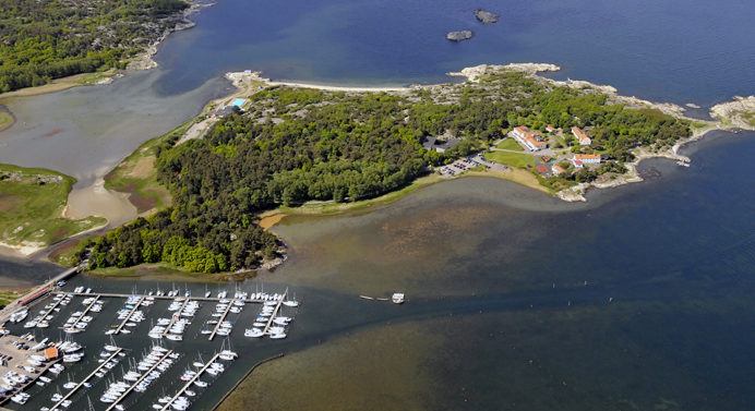 Aerial view of Ågrenska-Photo