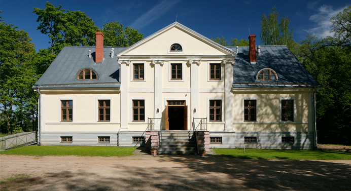 The main building in Estonia-Photo